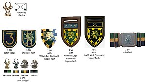 3 South African Infantry Battalion - SADF 3 SAI insignia
