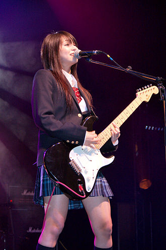 Haruna (name) - Haruna Ono, a Japanese musician and the lead singer of Scandal