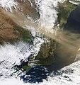 SE Aust dust storm - MODIS Terra 250m - 22 Sept 2009.jpg