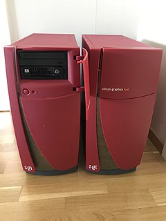 SGI Fuel Workstation computer from Silicon Graphics