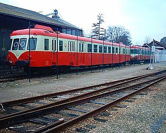SNCF Class X 2400 - The X 2426 at Pont-Audemer