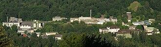 Südwestrundfunk - SWR buildings in Baden-Baden