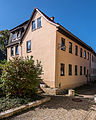 "Saalfeld Klostergasse 46 Wohnhaus Bestandteil Denkmalensemble ""Stadtkern Saalfeld-Saale"".jpg"