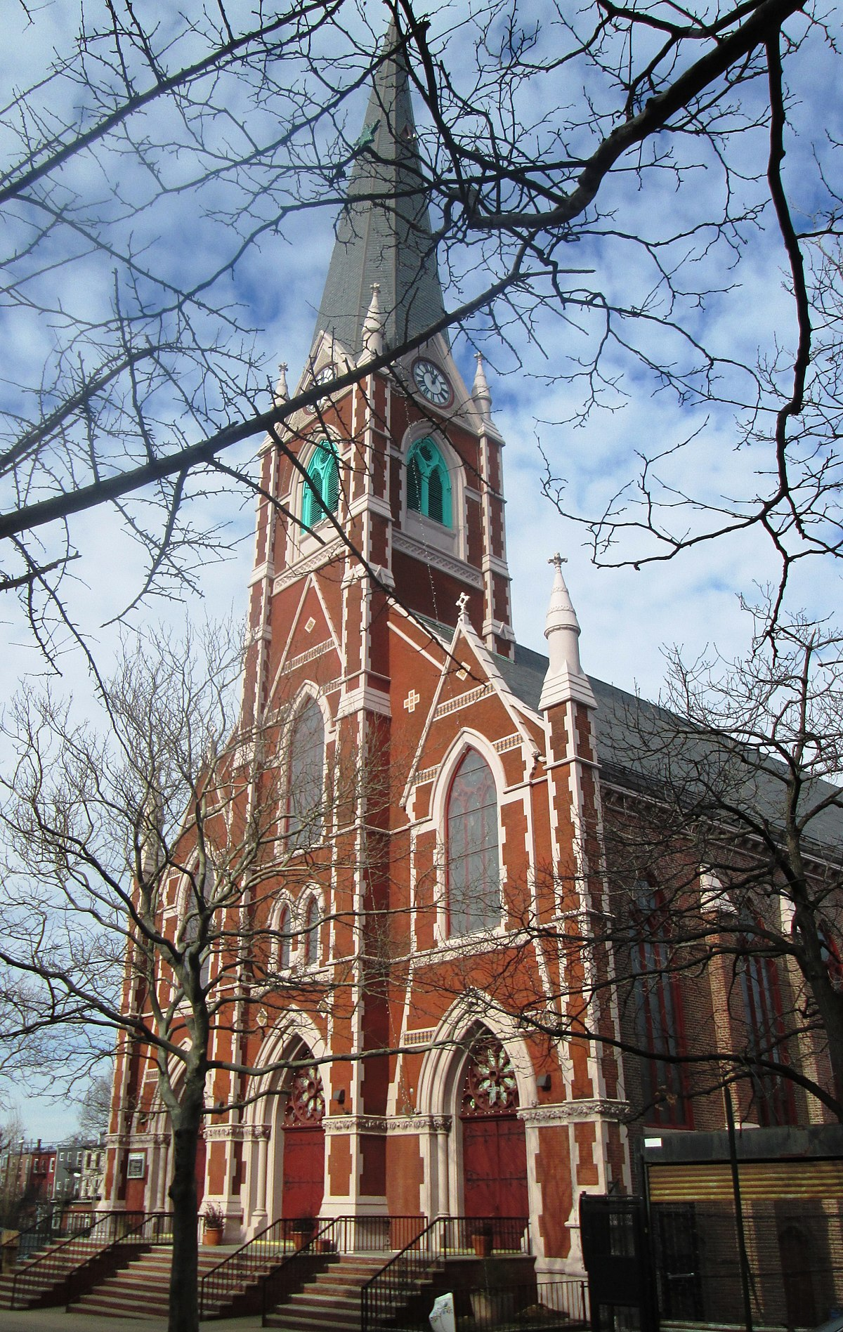 How To Move To New York >> Church of the Sacred Hearts of Jesus and Mary (Brooklyn, New York) - Wikipedia