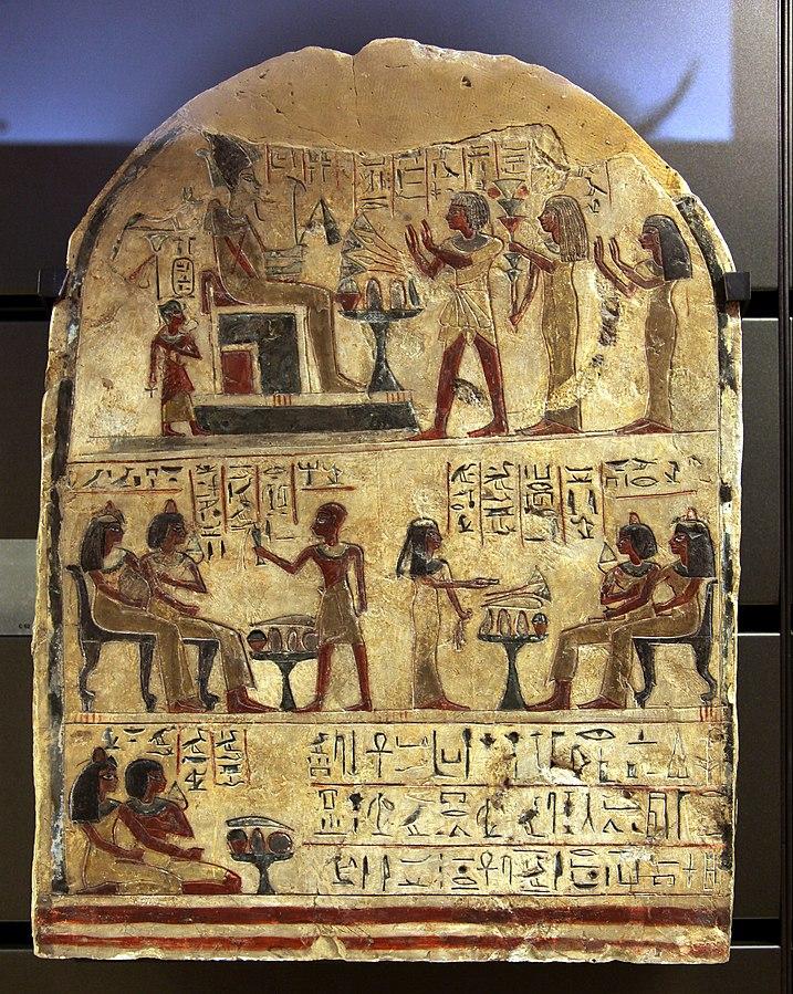 Sailor Houy worshipping Osiris-C 52