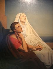 """St Augustine and Monica"" (1846), by Ary Scheffer."