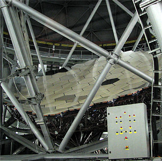 Southern African Large Telescope - Image: Salt Mirror