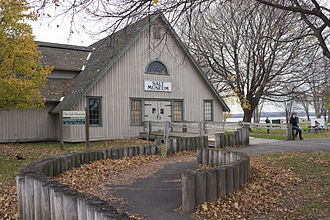 Liverpool, New York - The Salt Museum on the shore of Onandaga Lake in 2015