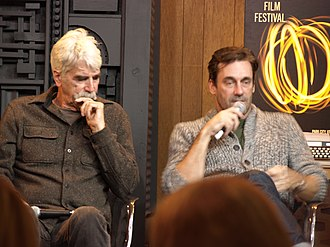 Sam Elliott - Elliott and Jon Hamm at the 2017 Sundance Film Festival