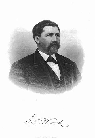 Wakarusa War - After being arrested by Sheriff Samuel J. Jones, Jacob Branson was rescued by Free-Staters, led by Samuel Newitt Wood (pictured).