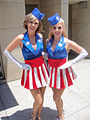 San Diego Comic-Con 2011 - Captain America- the first Avenger Military Salute - USO girls (5976786929).jpg