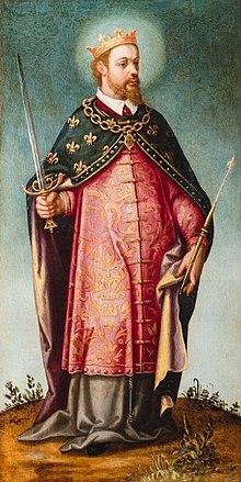 San Luis, rey de Francia, de Francisco Pacheco (Museo de Bellas Artes de Sevilla) .jpg