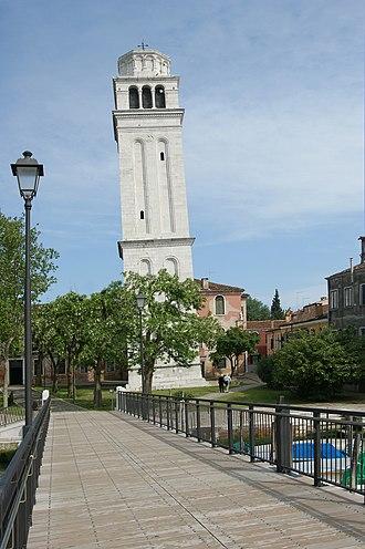San Pietro di Castello (church) - Image: San Pietro di Castello (Campanile)