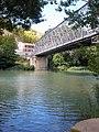 Sangüesa - Puente de Hierro sobre el río Aragón.jpg
