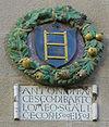 Sansepolcro, palazzo pretorio, stemma scali 1500-1501.jpg