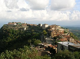 Sant'Oreste (Italy) - View of the town 1.JPG