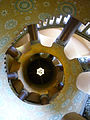 Santa Barbara Courthouse Spiral Stair Ceiling.JPG