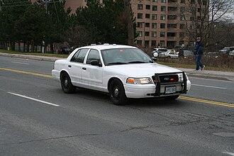 York Regional Police - Ford Crown Victoria unmarked cruiser
