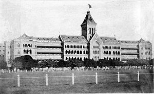David Sassoon - Sassoon Hospital, Pune in 1860s