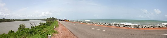 Saurpanika river Arabian Sea Kundapur