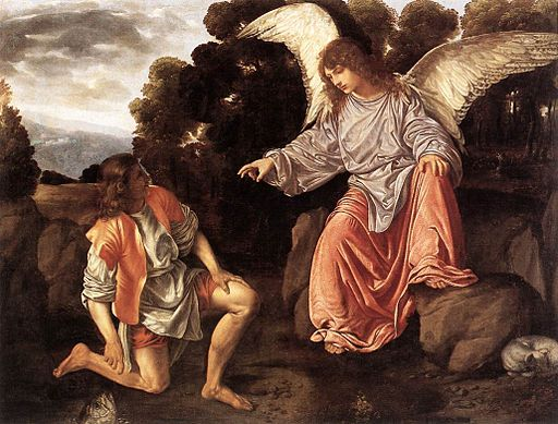 Savoldo, tobia e l'angelo