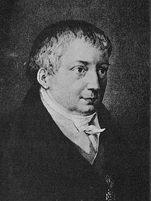 Friedrich von Schlegel (1829) von Josef Axmann oder Auguste von Buttlar, seiner Nichte, die ihn nach Dresden begleitete. (Quelle: Wikimedia)