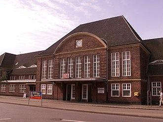 Schleswig station - Image: Schleswigbahnhof