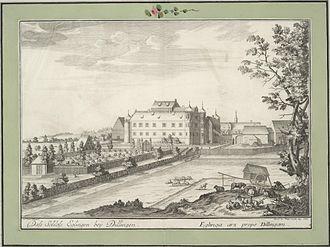 Battle of Neresheim - Eglingen Castle