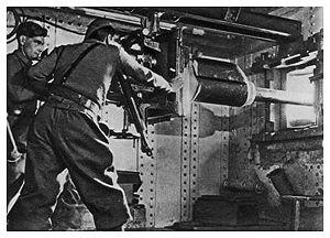 AC 47 anti-tank gun - AC 47 of Block 1, Ouvrage Schoenenbourg in 1940