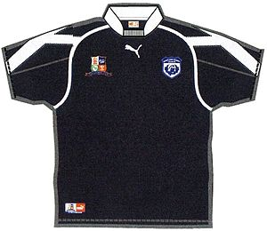 Scotland national rugby league team - This shirt was used for the two World Cup Qualifying matches against Wales.