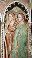 Scuola dell'orcagna, incoronazione della vergine, angeli e sante, 1390 ca. 04 maddalena e agata.jpg