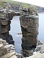 Sea Stack in the Making - geograph.org.uk - 490003.jpg