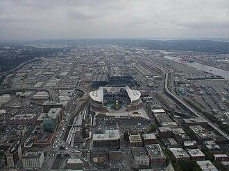 2002 Seattle Seahawks season - Stadium and surroundings, 2002