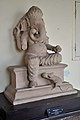 Seated Four-handed Ganesha - Circa 13th Century CE - Etah - ACCN 95-17 - Government Museum - Mathura 2013-02-22 4716.JPG