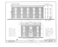 Second Baptist Church, Morgan and Monroe Streets, Chicago, Cook County, IL HABS ILL,16-CHIG,2- (sheet 4 of 6).png