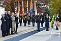 Secretaries Kerry, Hagel and Australian Ministers Bishop, Johnston Participate in a Wreath Laying Ceremony (10963781563).jpg