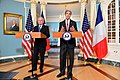 Secretary Kerry Addresses Reporters After a Meeting With French Foreign Minister Jean-Marc Ayrault (29543132584).jpg
