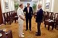 Secretary Kerry Speaks With U.S. Navy Vice Admiral Pandolfe and Former U.S. Senator and Navy SEAL Kerrey in Ho Chi Minh City (27271849855).jpg