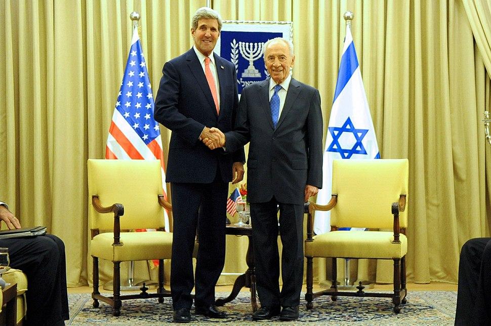 Secretary Kerry and Israeli President Peres Meet In Jerusalem (10709813623)