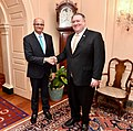Secretary Pompeo Meets With Indian Foreign Secretary Gokhale (46627976564).jpg