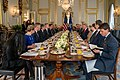 Secretary Pompeo Participates in a Working Breakfast with President Trump and Secretary General Stoltenberg (49163002876).jpg