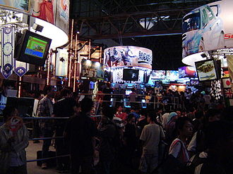 Tokyo Game Show - Image: Sega booth, Tokyo Game Show 20040926b