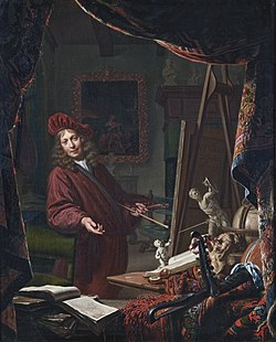 Self-portrait in the studio, by Michiel van Musscher.jpg