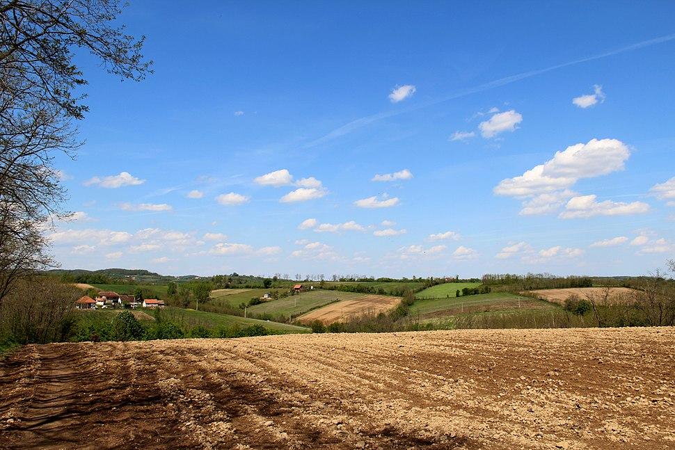 Selo Jazovik - opština Valjevo - zapadna Srbija - panorama 4