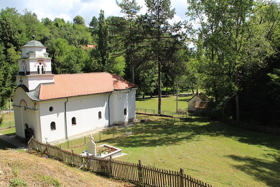 Selo Pričević - opština Valjevo - zapadna Srbija - crkva Prenosa moštiju Svetog Nikolaja 2