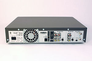 Digital video recorder - Back view of a TiVo Series2 5xx-generation unit