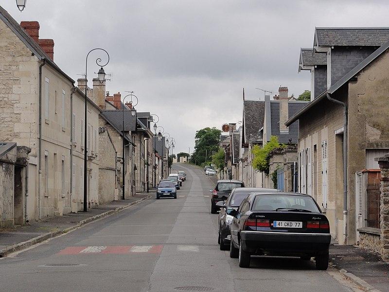 Sermoise (Aisne) Rue de la Renaissance (anciennement la N 31)