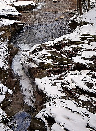 Plains Township, Luzerne County, Pennsylvania - Image: Seven Tubs Recreation Area