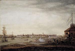 1780 in Sweden - Sevenbom, Kastellholmen