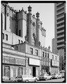 Seventh Avenue side, looking SE. (Sept. 1991) - Fox Theater, Seventh Avenue and Olive Way, Seattle, King County, WA HABS WASH,17-SEAT,11-5.tif